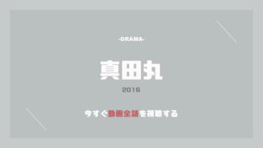 公式無料動画|真田丸のドラマを全話視聴する方法!動画配信サイトや竹内結子などキャスト情報もまとめ